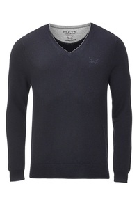 FTC Herren Pullover V-Neck HS2065  royal blue, S
