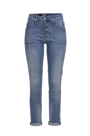 Damen Jeans Tira Sp. Modern Stretch , brushed bleached, 25/32