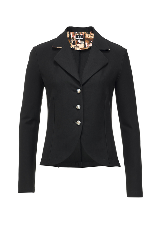 Damen Blazer Stretch WEINKELLER , black, M
