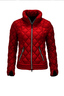 Damen Light Daunenjacke SPORTY , red, XS