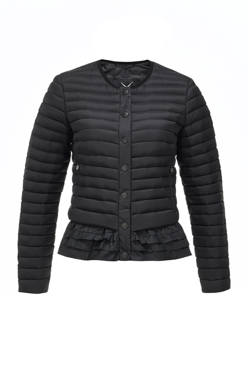 Damen Light Daunenjacke SCHÖßCHEN , black, XL