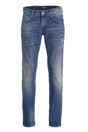 Herren Jeans Raven Tapered 6116_5668_82 , rinse washed, 35/32