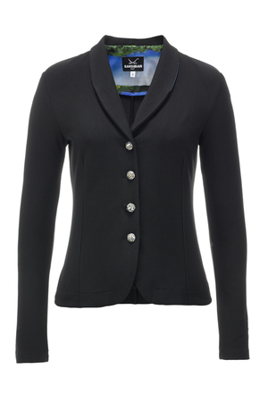 Damen Blazer Stretch DÜNEN , black, XXL