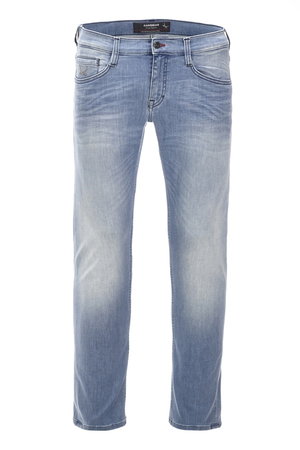 Herren Denim Raven Tapered 6116_5641_072 , stone, 31/34