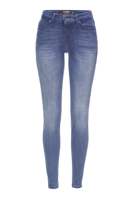 Damen Denim Elin Jeggins 6596_5740_072 , stone, 26/32