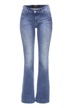 Damen Denim Elin Flared 6839_5740_052 , SUPER STONE, 29/32