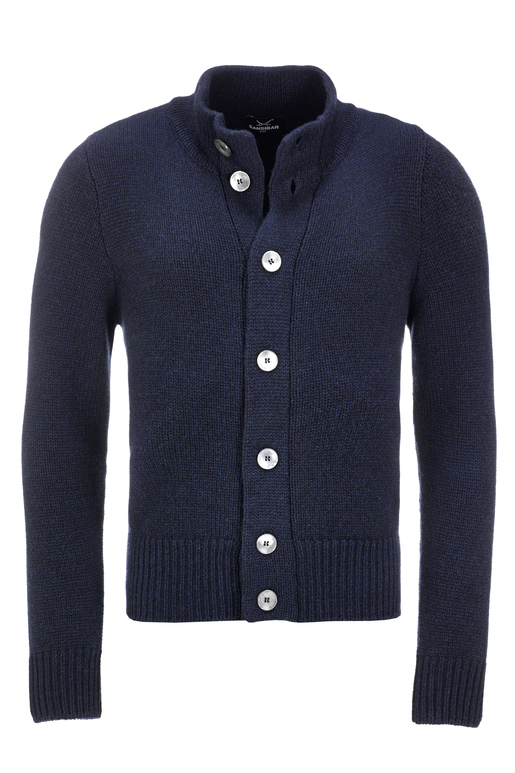 Herren Strickjacke Art. 934 , navy, S