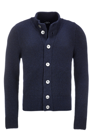 Herren Strickjacke Art. 934 , navy, XXXL