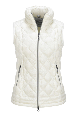 Damen Light Daunenweste SPORTY , white, M