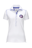 Damen Poloshirt CLEAN , white, L