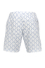 Herren Swimshorts SAINT TROPEZ , white/ light blue, S