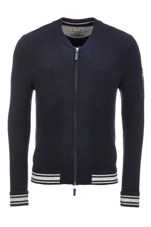 FTC Herren Strickjacke 2088 , midnight blue, S