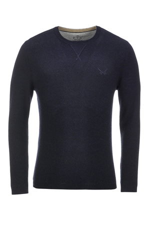 FTC Herren Pullover Crew-Neck 2089 , midnight blue, S
