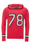 FTC Hoody TRIKOT 2091 , red, XS