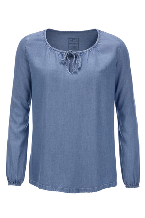 Damen Tunika TENCEL , lightblue, XXS