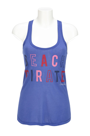 Damen Top BEACH PIRATE , blue, L