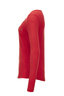 Damen Longsleeve SANSIBAR Leise , red, L