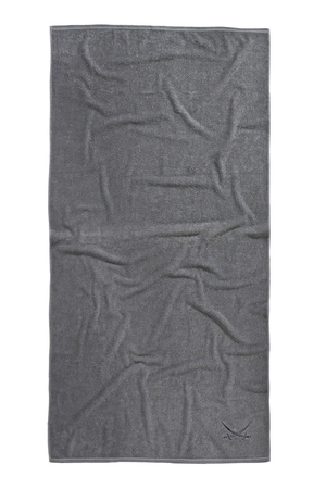 Sansibar Handtuch Collection 480g 90x180 , 90x180, SILBER