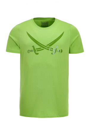Herren T-Shirt SWORDS LAUT , bright green, S