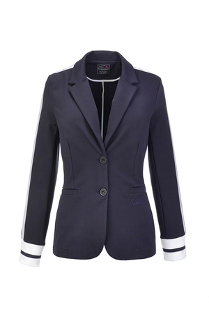 Damen Blazer INTERLOCK , navy, XL