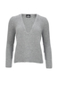 Damen Jumper Cashmere , grey, XS