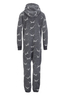 Kinder Jumpsuit ALL OVER , anthramelange, 104/110