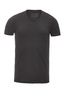 Herren T-Shirt PIMA COTTON V-Neck , black, XL