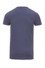 Herren T-Shirt PIMA COTTON V-Neck , rauchblau, S