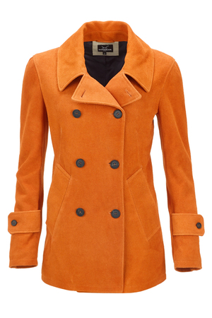 Damen Cabanjacke , Orange, XL