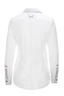 Damen Bluse TAPE , white, M