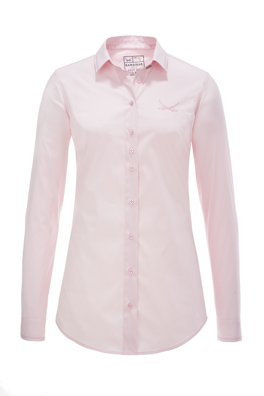 Damen Bluse FANCY STITCH , light rose, XXL