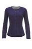 FTC Damen Jacke Milano Rib HS1103 , dark navy, XL
