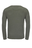 FTC Herren Pullover Rippe HS2101 , green, M