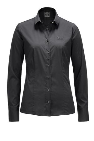 Damen Bluse BLACK PEARL , black, S