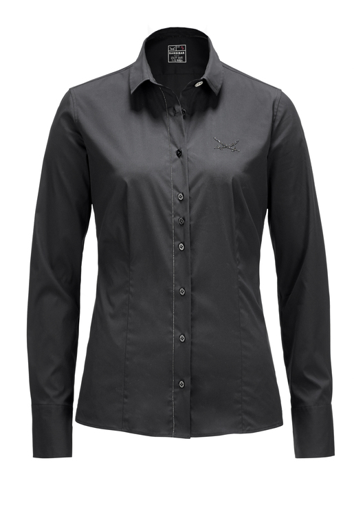 Damen Bluse BLACK PEARL , black, M