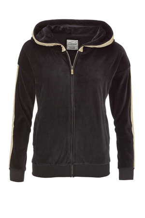 Damen Sweatjacke NICKI , black, XS