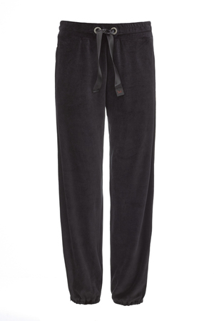 Damen Sweatpants NICKI , black, XXL