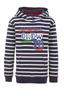Kids Hoody Crew , navy/ white, 92/98