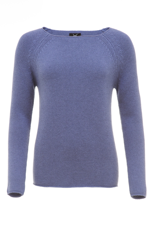Damen Pullover Basic Art 904 , lila, S