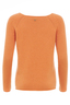 Damen Pullover Basic Art 904 , Orange, S
