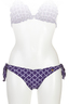 Bikini Slip Brazilian Mix&Match , dark blue, M