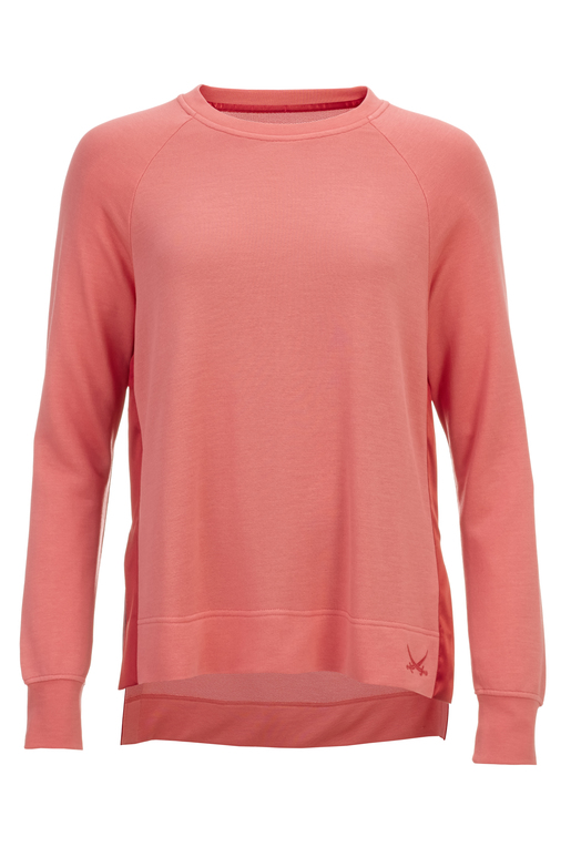 Damen Sweater BEACH HIPPIE , coral, XL