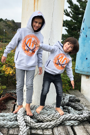 Boys Hoody 40 , white, 140/146