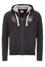 Herren Sweatjacke TAILOR , black, XS