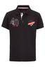 Kinder Poloshirt TAILOR , black, 116/122