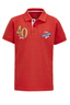 Kinder Poloshirt TAILOR , red, 116/122