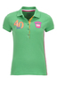 Damen Poloshirt TAILOR , green, XXS
