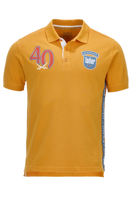 Herren Poloshirt TAILOR , Orange, XS