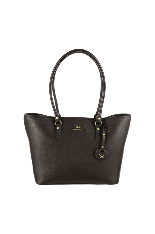B-647 Schultertasche , one size, CHOCOLATE