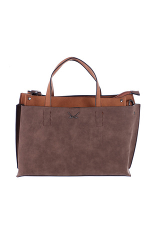 SB-1001 Henkeltasche , one size, CHOCOLATE